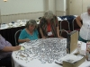 Hospitality room puzzle draws a crowd