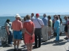 Reunion members view the Great Salt Lake