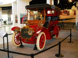 One of many vintage automobiles on display at the Crawford Auto-Aviation Museum
